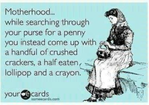 funny mom's purse